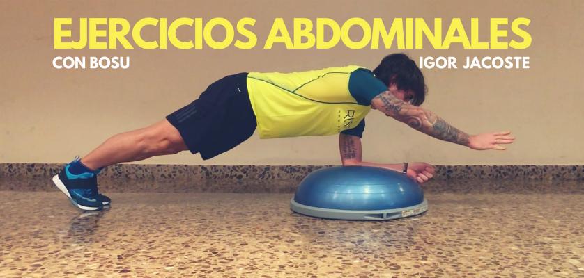 Los 6 mejores ejercicios abdominales con bosu