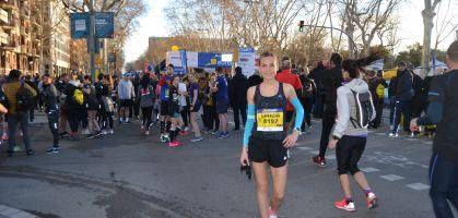 Mitja Marató Barcelona: Crónica de Leticia Acereda
