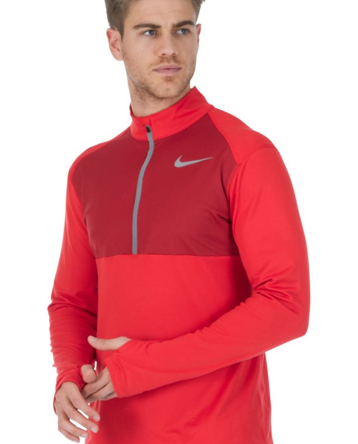 Sui Nueve Practicar senderismo  Camiseta técnica manga larga Nike TOP CORE HZ en oferta y rebajas   Runnea