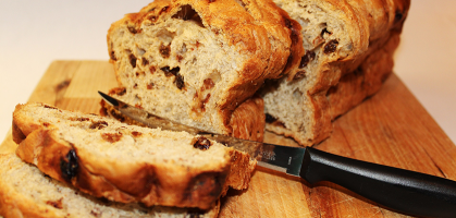 Receta de pan de avena y pasas: ¿Cómo elaborar tu propio pan casero?