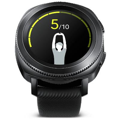Montres connectées Samsung Gear Sport