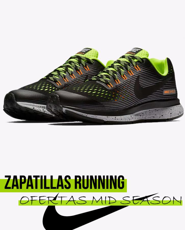6ab17a3e16bc3 Nike Air Zoom Pegasus 34 Shield infantil en oferta y rebajas