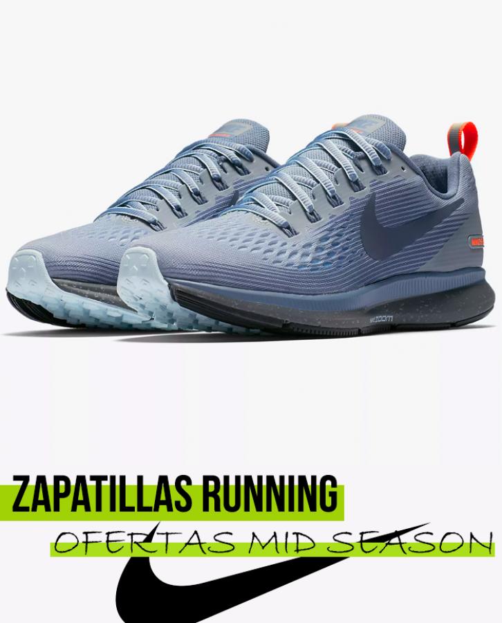 Nike Pegasus 34 Shield mujer en oferta y rebajas | Runnea