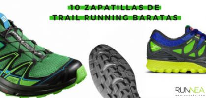 10 zapatillas de Trail Running baratas que te puedes permitir el lujo de comprar