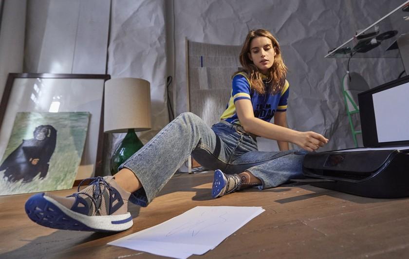 Ana kras con las Adidas Arkyn