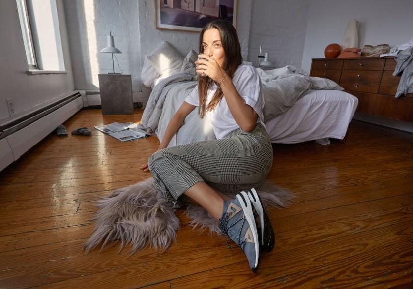 Marisa Competello con las Adidas Arkyn