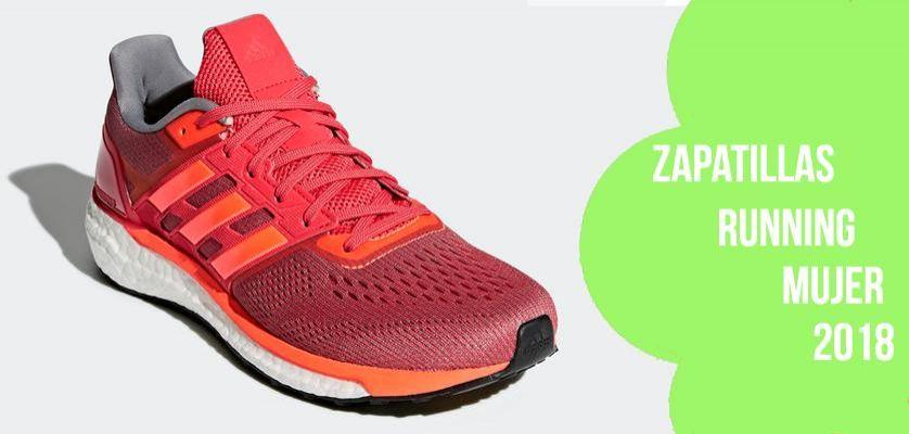 Las mejores zapatillas running para mujer 2018