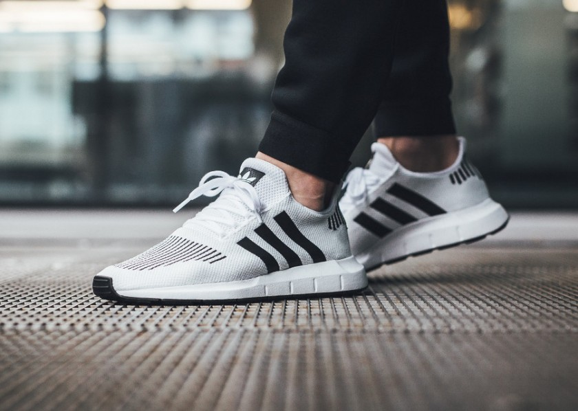 adidas swift run blancas