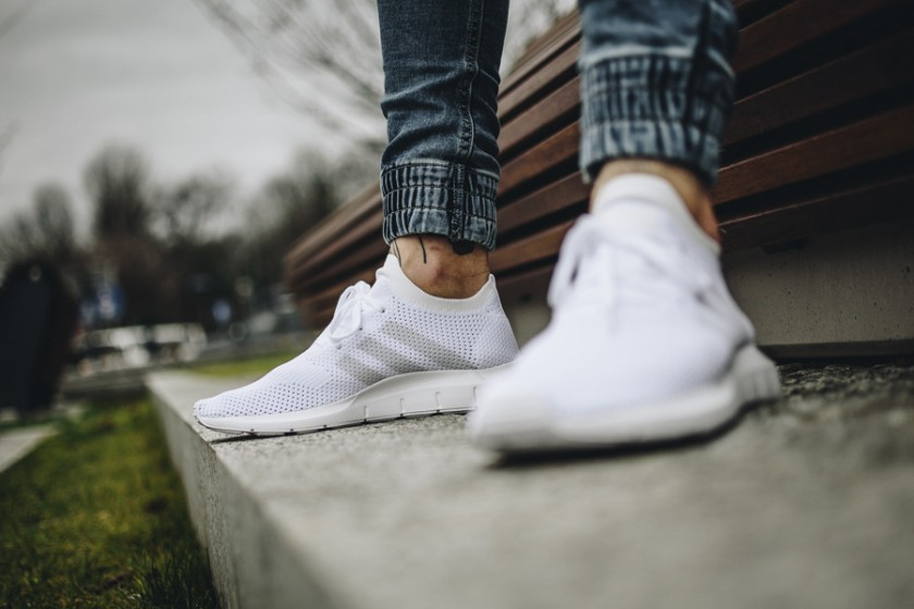adidas swift run blancas