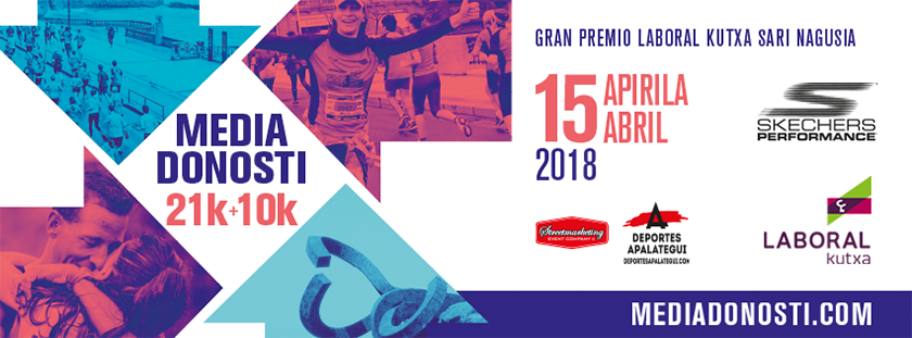 Media Maratón Donosti San Sebastián 2018, skechers performance