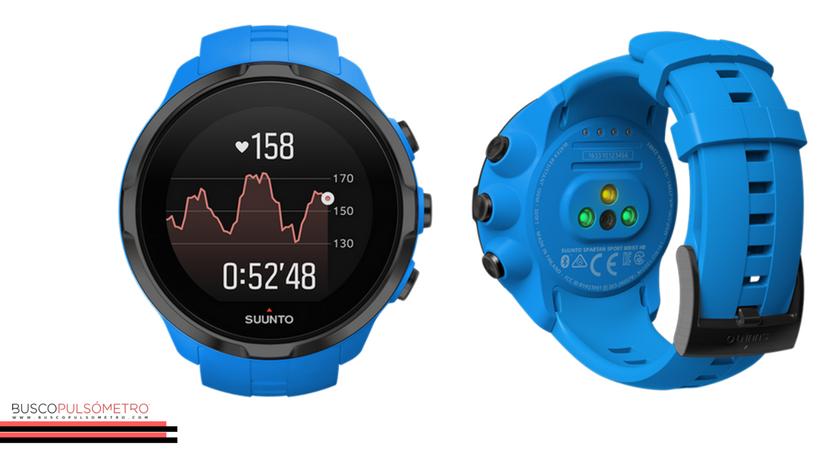 Mejores pulsómetros para verano: Suunto Spartan Sport Wrist HR