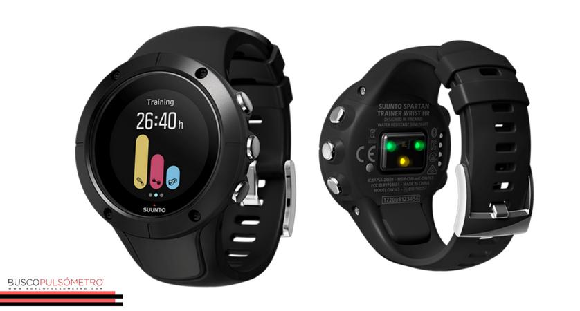 Mejores pulsómetros para verano: Suunto Spartan Trainer Wrist HR