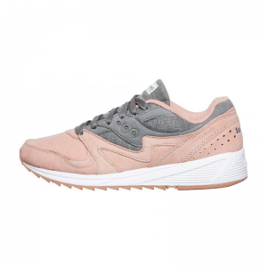 Saucony Light Gris/Dark Gris Grid 8000 Zapatillas-UK 5 e0JFGfz0h