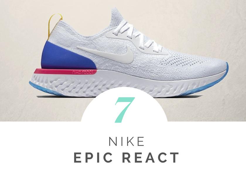 Mejores zapatillas vacioner verano Nike Epic React