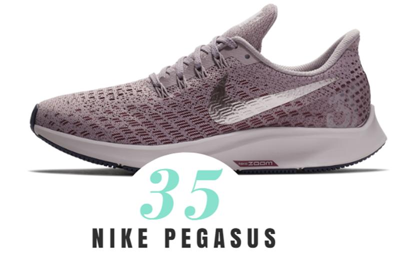 Nike Pegasus 35años de historia calzando al runneante