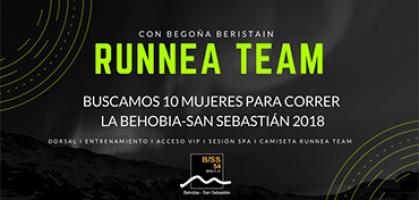 Corre la Behobia San Sebastián 2018 con el Team Runnea