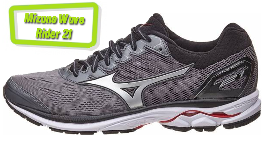 Precios y características de las zapatillas de running Mizuno Wave Rider 21