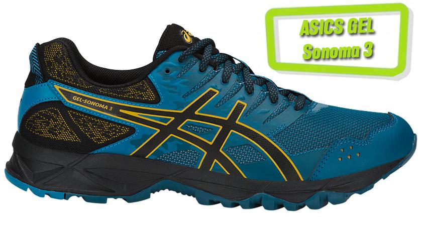 Precios y características de las zapatillas de running ASICS Gel Sonoma 3