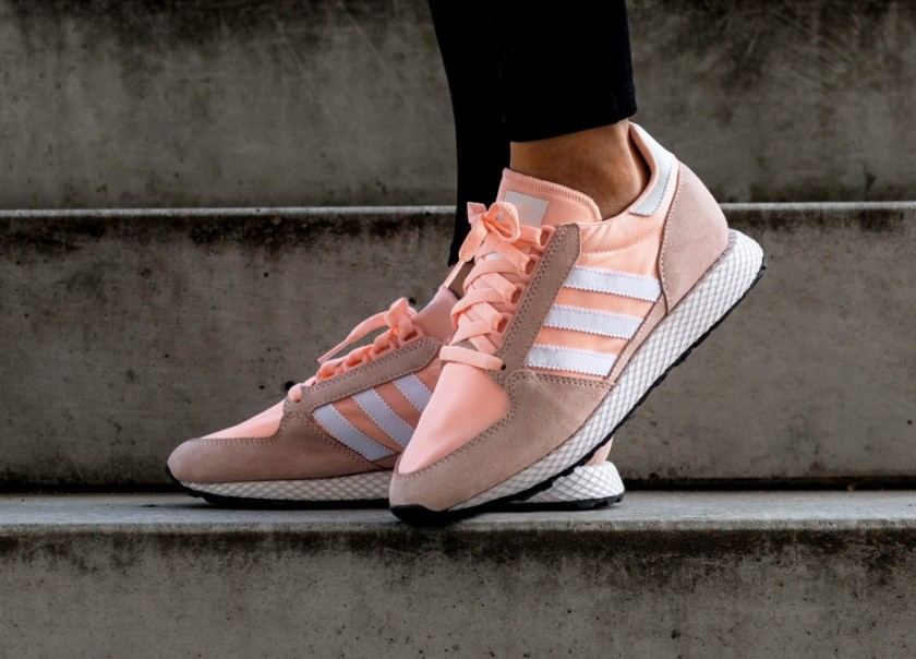 adidas forest grove mujer rosa