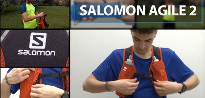 Mochila hidratación Salomon Agile Set 2: Opiniones y Análisis a fondo