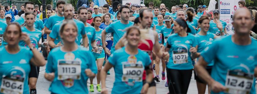 Salidas, horarios y distancias de la Gernika Bilbao Running 2018