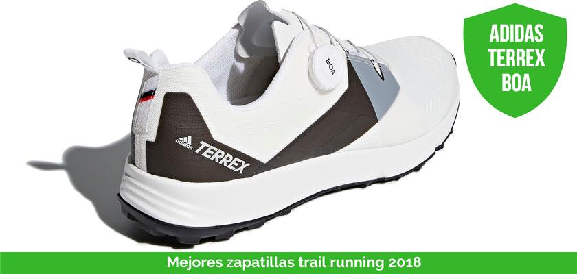 Mejores zapatillas trail running 2018 - adidas Terrex BOA