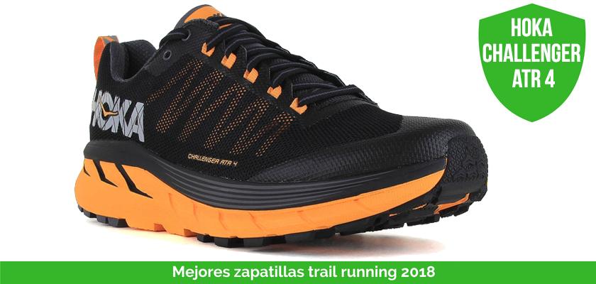 Mejores zapatillas trail running 2018 - Hoka One One Challenger ATR 4
