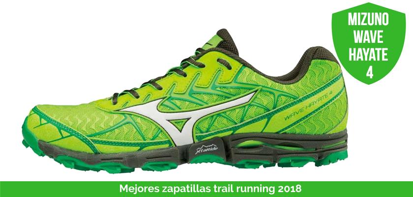 Mejores zapatillas trail running 2018 - Mizuno Wave Hayate 4