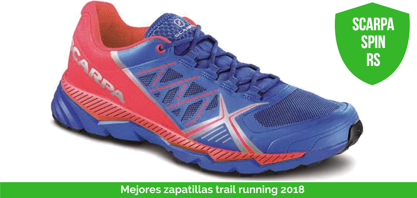 Mejores zapatillas trail running 2018 - Scarpa Spin RS