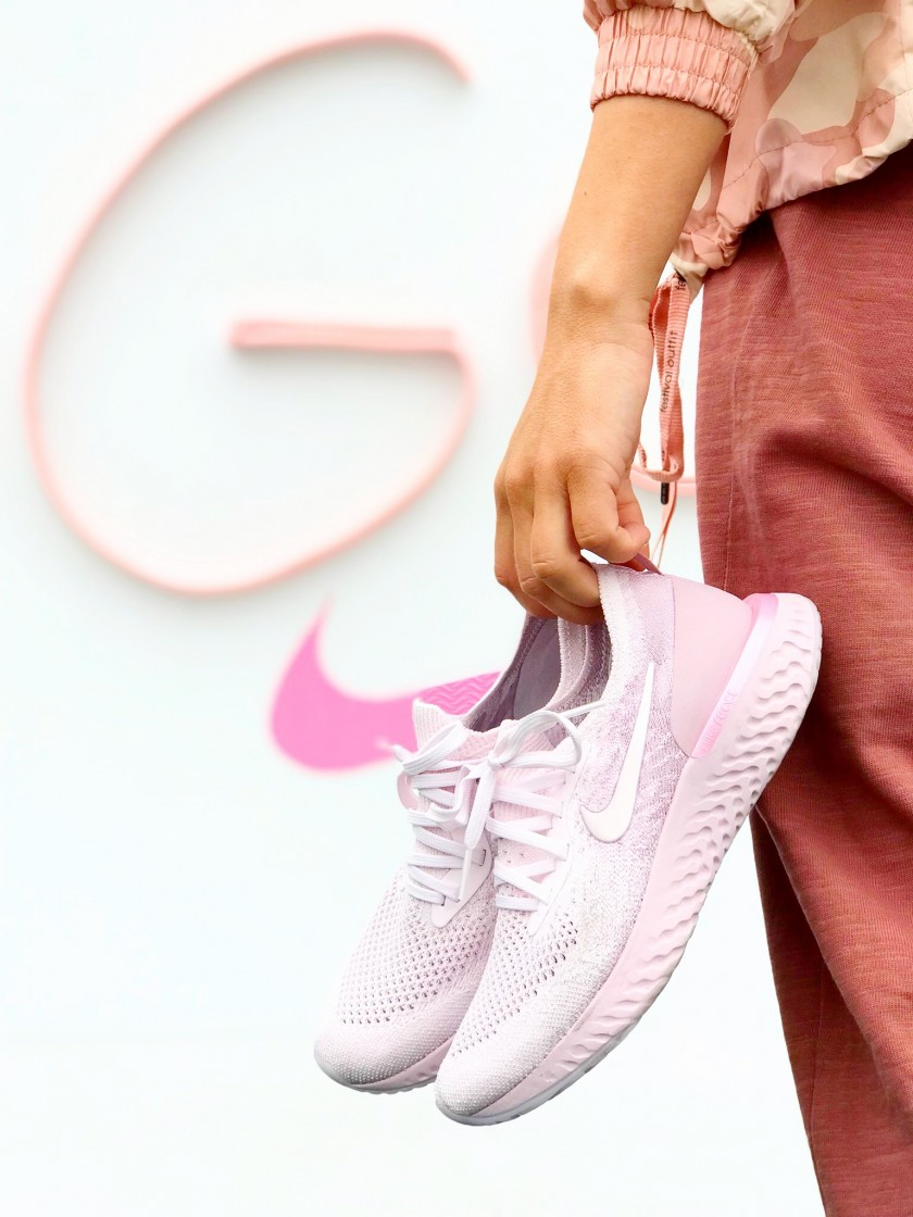 nike epic react color rosa