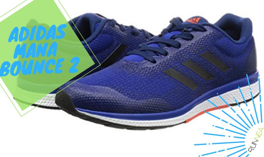Precios y características de las zapatillas de running Adidas Mana Bounce 2