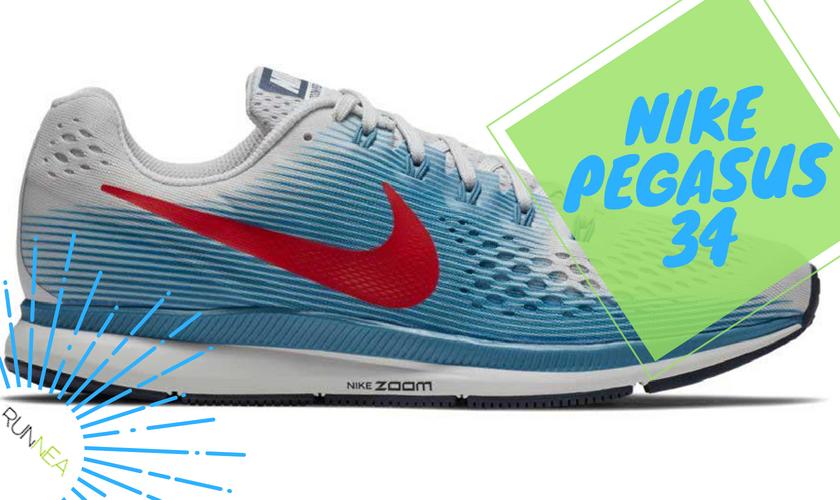 Precios y características más destacadas de las Nike Pegasus 34