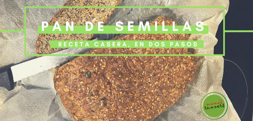 Receta casera de pan de semillas, en dos pasos: ¡Muy fácil y sencilla!