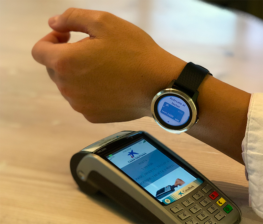 Garmin Pay compatibles con tarjetas Visa de CaixaBank y Boon by Wirecard