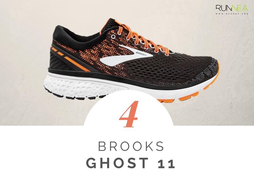 Mejores zapatillas de running tope amortiguacion 2018 - Brooks Ghost 11