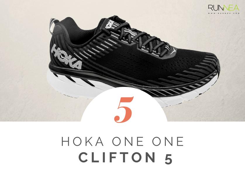 Mejores zapatillas de running tope amortiguacion 2018 - Hoka One One Clifton 5