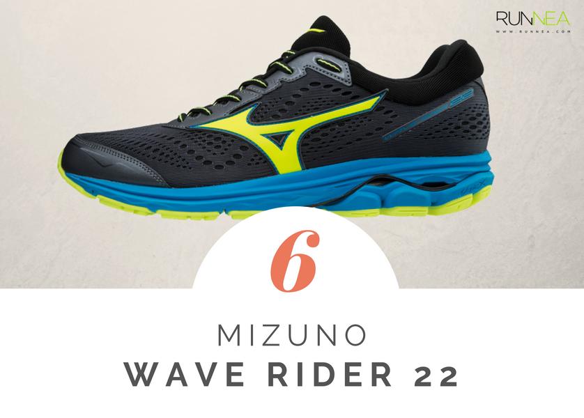 Mejores zapatillas de running tope amortiguacion 2018 - Mizuno Wave Rider 22