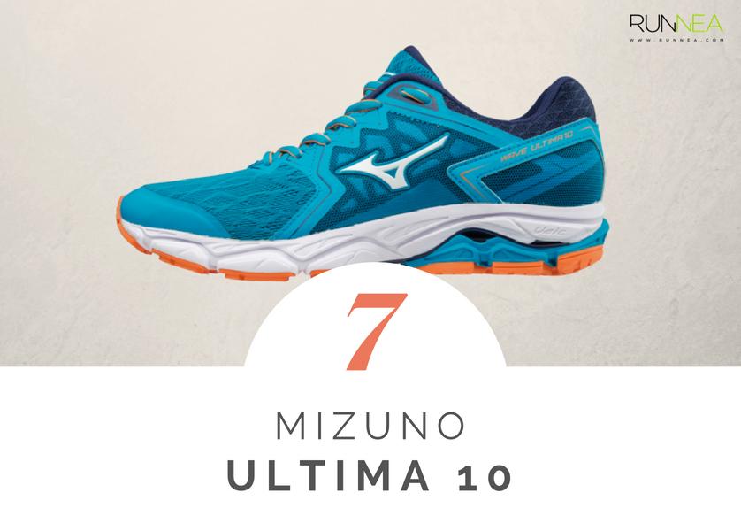 Mejores zapatillas de running tope amortiguacion 2018 - Mizuno Wave Ultima 10