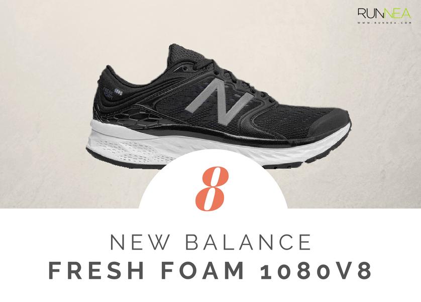 Mejores zapatillas de running tope amortiguacion 2018 - New Balance Fresh Foam 1080v8