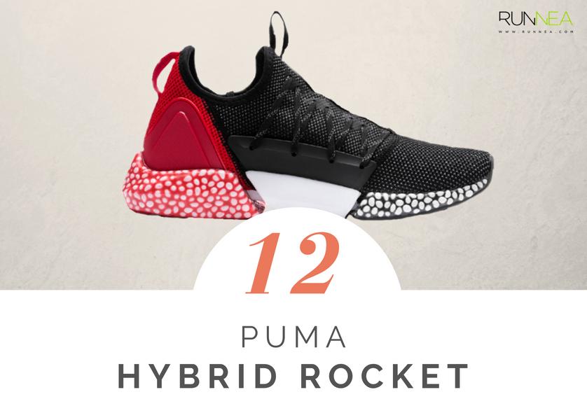 Mejores zapatillas de running tope amortiguacion 2018 - Puma Hybrid Rocket