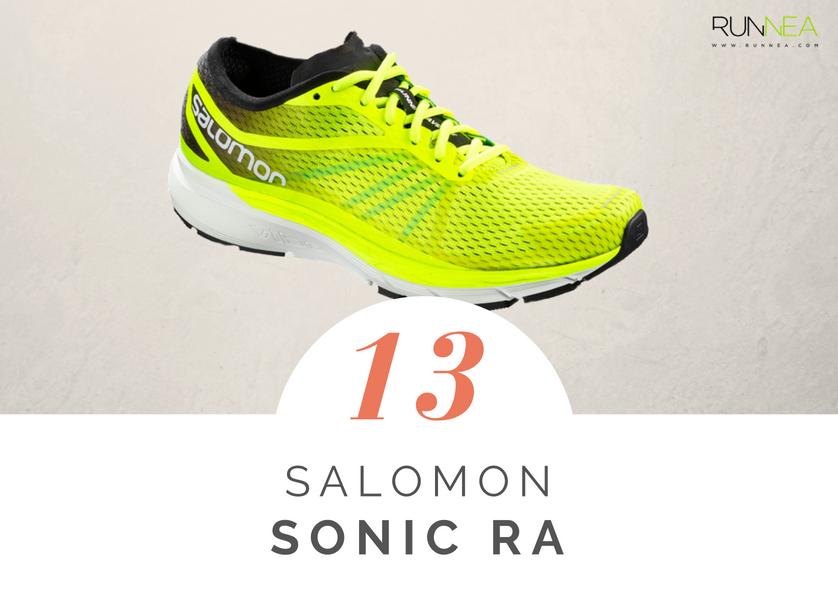 Mejores zapatillas de running tope amortiguacion 2018 - Salomon Sonic RA