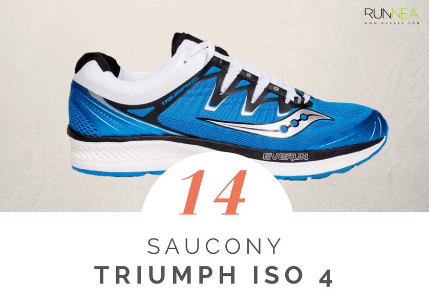 Mejores zapatillas de running tope amortiguacion 2018 - Saucony Triumph ISO 4