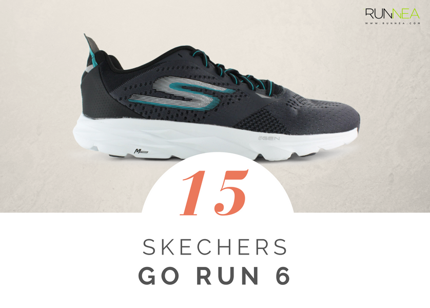 Mejores zapatillas de running tope amortiguacion 2018 - Skechers GOrun 6