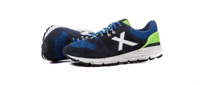 munich fuga sneakers azules
