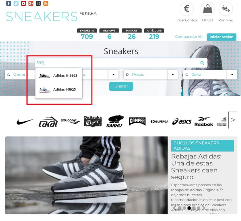 sneakers runnea buscador de precios de zapatillas online