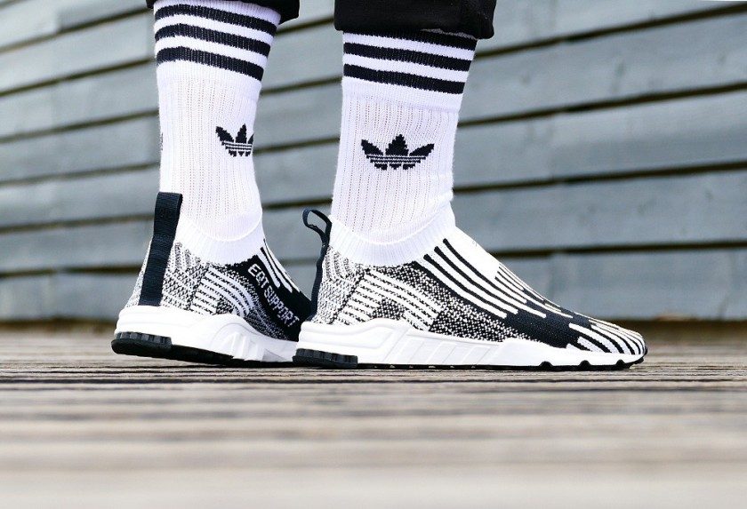 newest e6508 a65d5 adidas eqt support sock primeknit