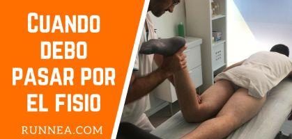 ¿Cuándo pasar por el fisioterapeuta aunque no estemos lesionados?