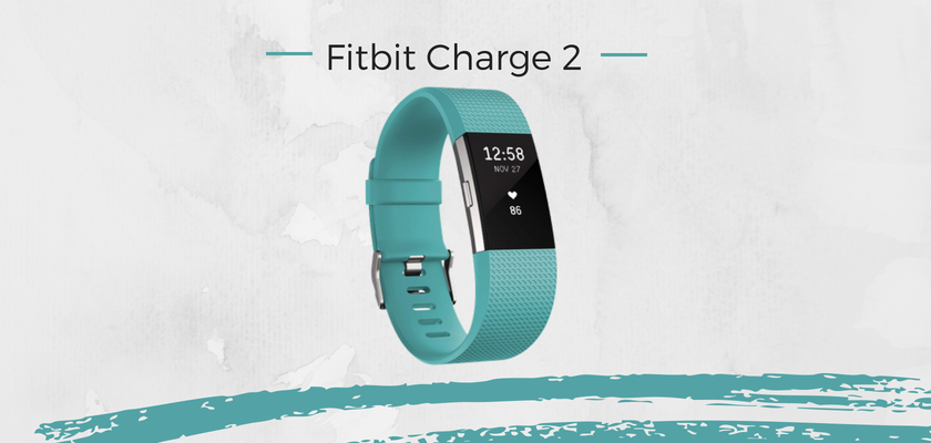 mejores pulseras actividad, Fitbit Charge 2