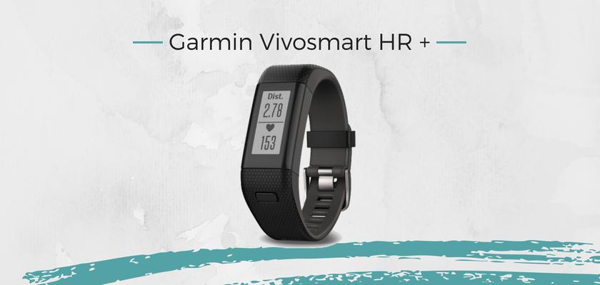 mejores pulsera actividad, Garmin Vivosmart HR +