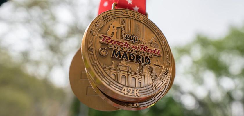 Maratón Madrid 2010 medalla